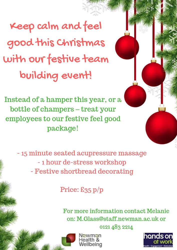 UPDATED Keep calm and feel good this Christmas with our festive team building event! (2)